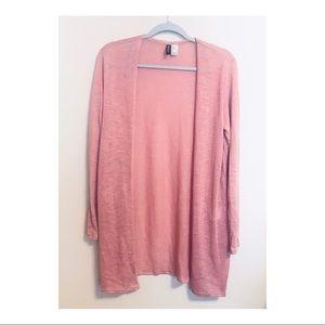 Pink Cardigan NWOT